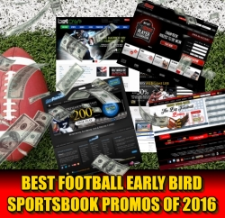 Best Football Preseason Sportsbook Bonuses