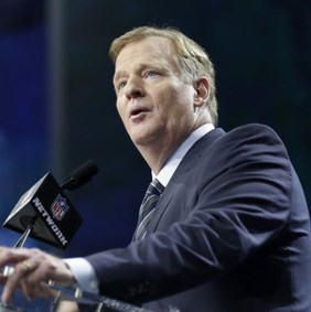 Roger Goodell makes a statement about the Stance of the NFL on Legalized Sports Betting